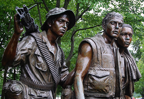 "Frederick Hart's ""Three Servicemen"" from the Vietnam Veterans Memorial, Washington DC"