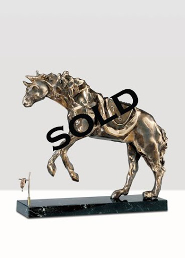 DALI--HorseSaddled--SOLD
