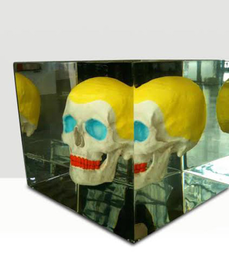 NICOLAS- Skull Warhol