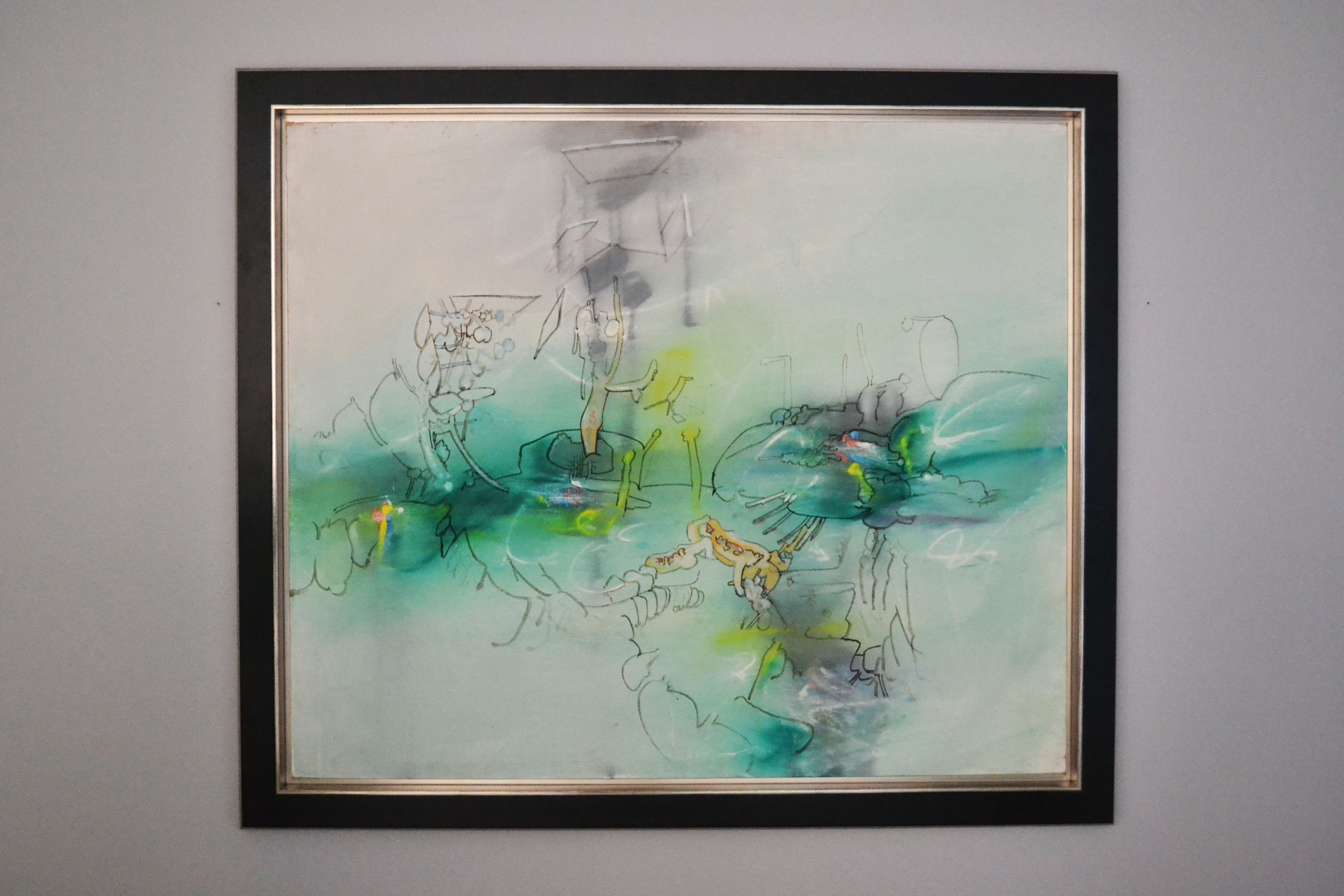 Roberto Matta Original oil painting