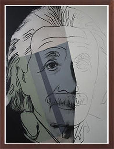 WARHOL- Einstein