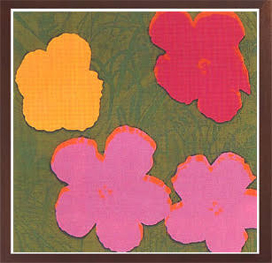 WARHOL- Flowers