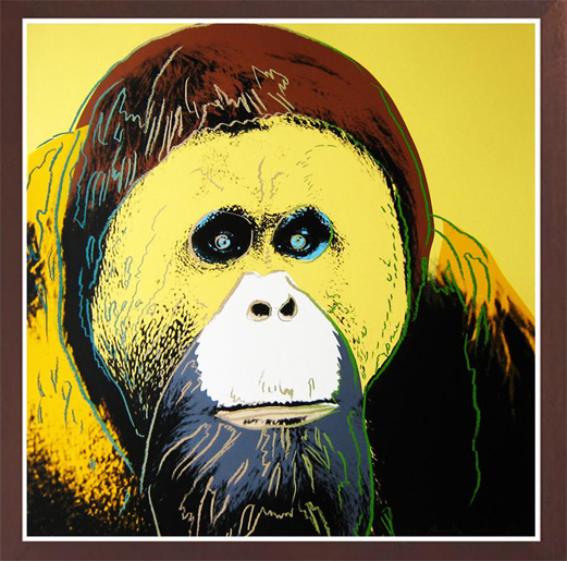 WARHOL- Orangutan