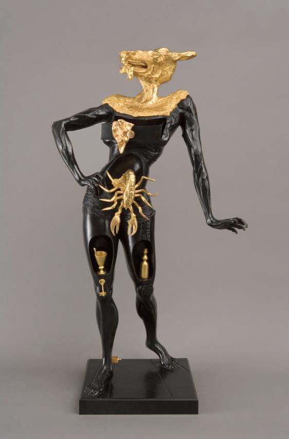 salvador dali bronze collection robin rile fine art. Black Bedroom Furniture Sets. Home Design Ideas