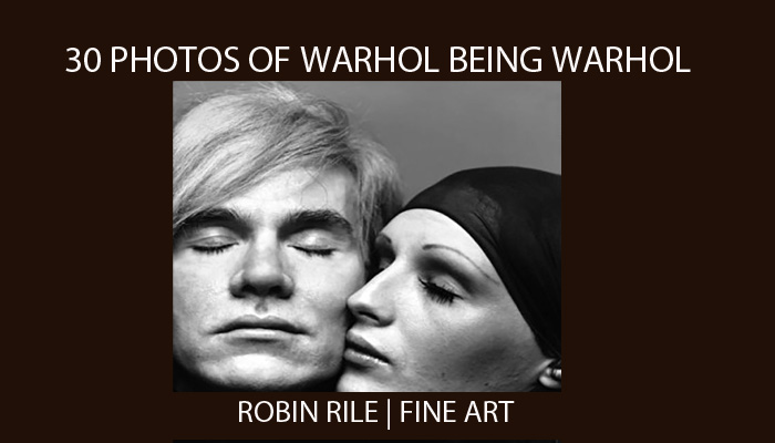 30 photos of warhol being warhol