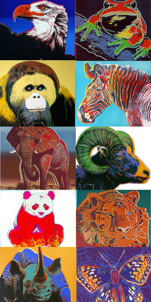 Andy Warhol Endangered Species