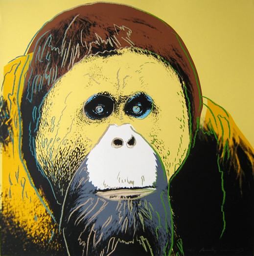 Andy Warhol orangutan