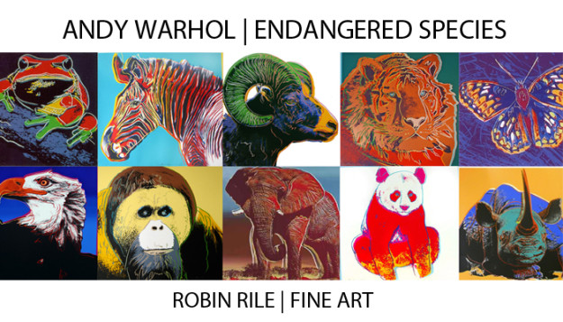 Andy Warhol Endangered Species Porfolio