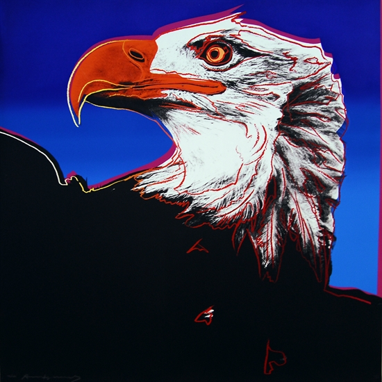 Bald Eagle Andy Warhol