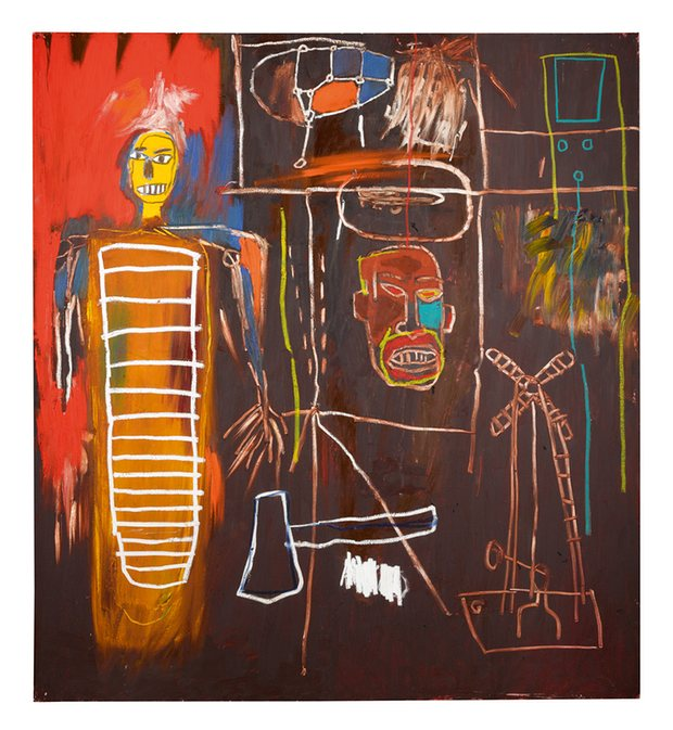 Air Power by Basquiat