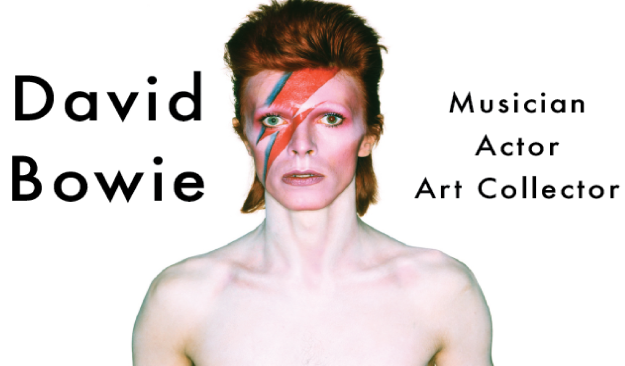 David Bowie Musician Actor Art Collector