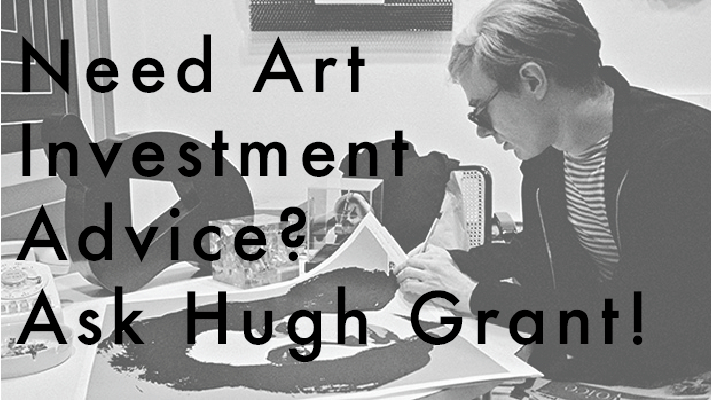 Need Art Investment Advice? Ask Hugh Grant!
