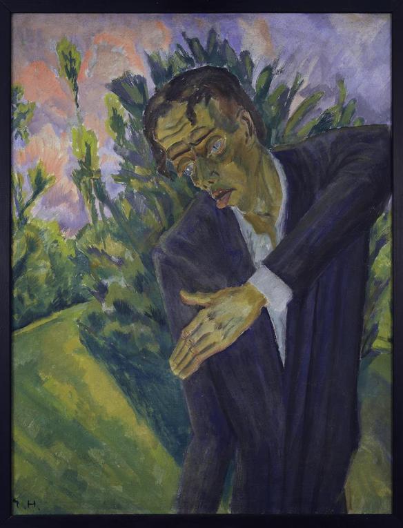 Erich Heckel, Roquairol (1917)