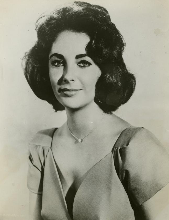 Elizabeth Taylor Publicity Photograph Butterfield 8