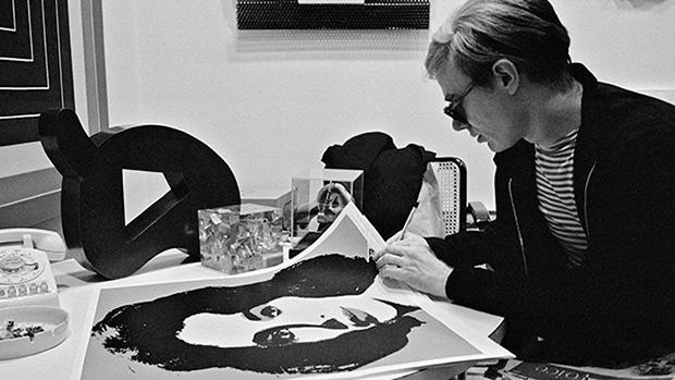 Andy Warhol Liz Taylor Photograph