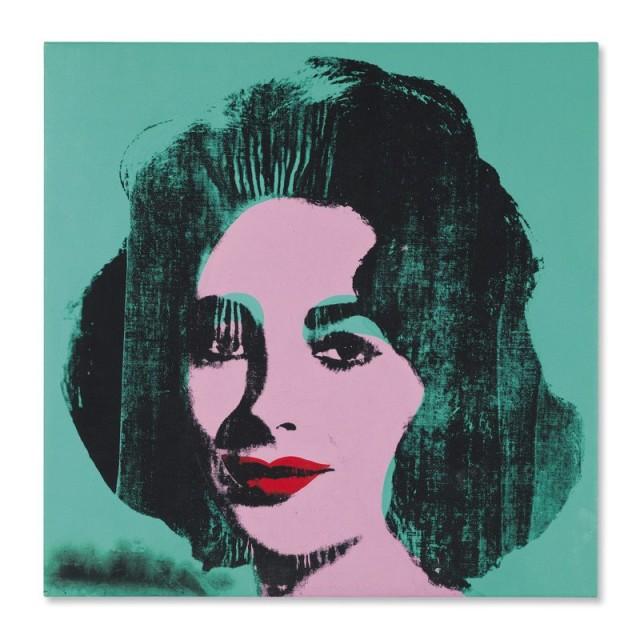 Turquoise Liz Andy Warhol Christies