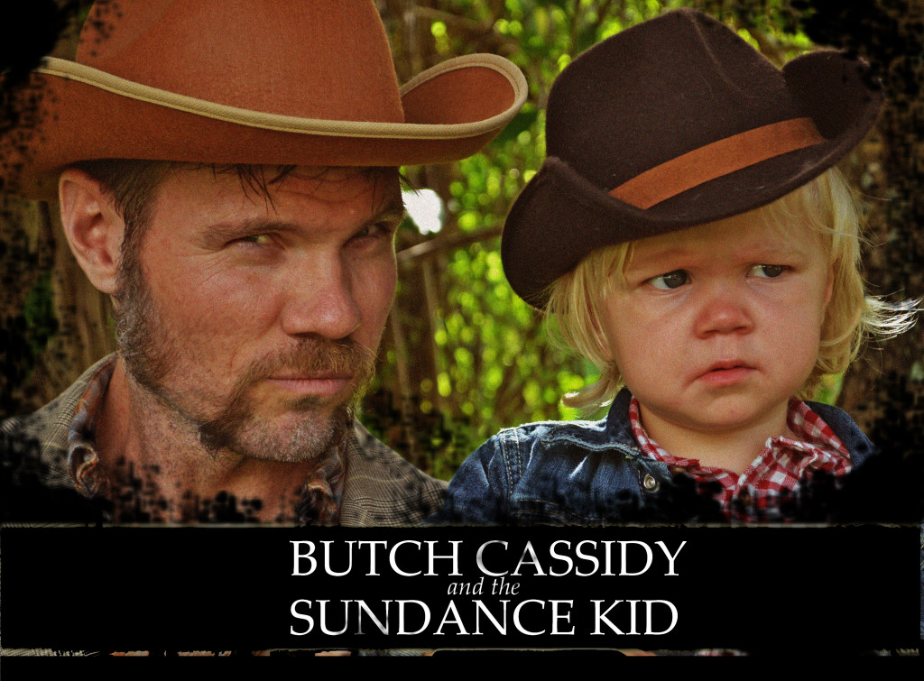 family halloween costume butch cassidy and the sundance kid