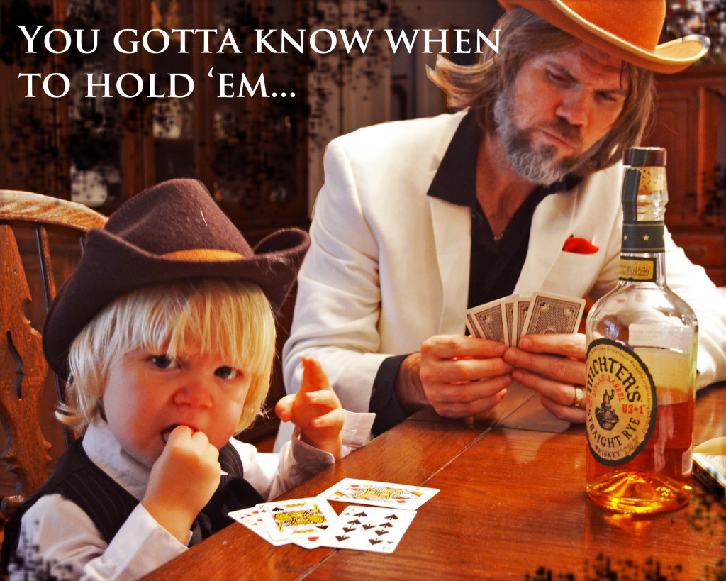 family hallween costume kenny rogers the gambler
