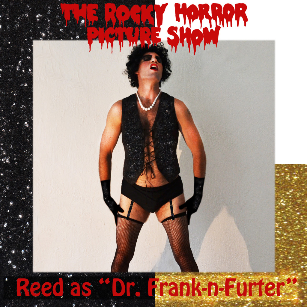 Rocky HOrror Picture Show Dr Frank N Furter costume