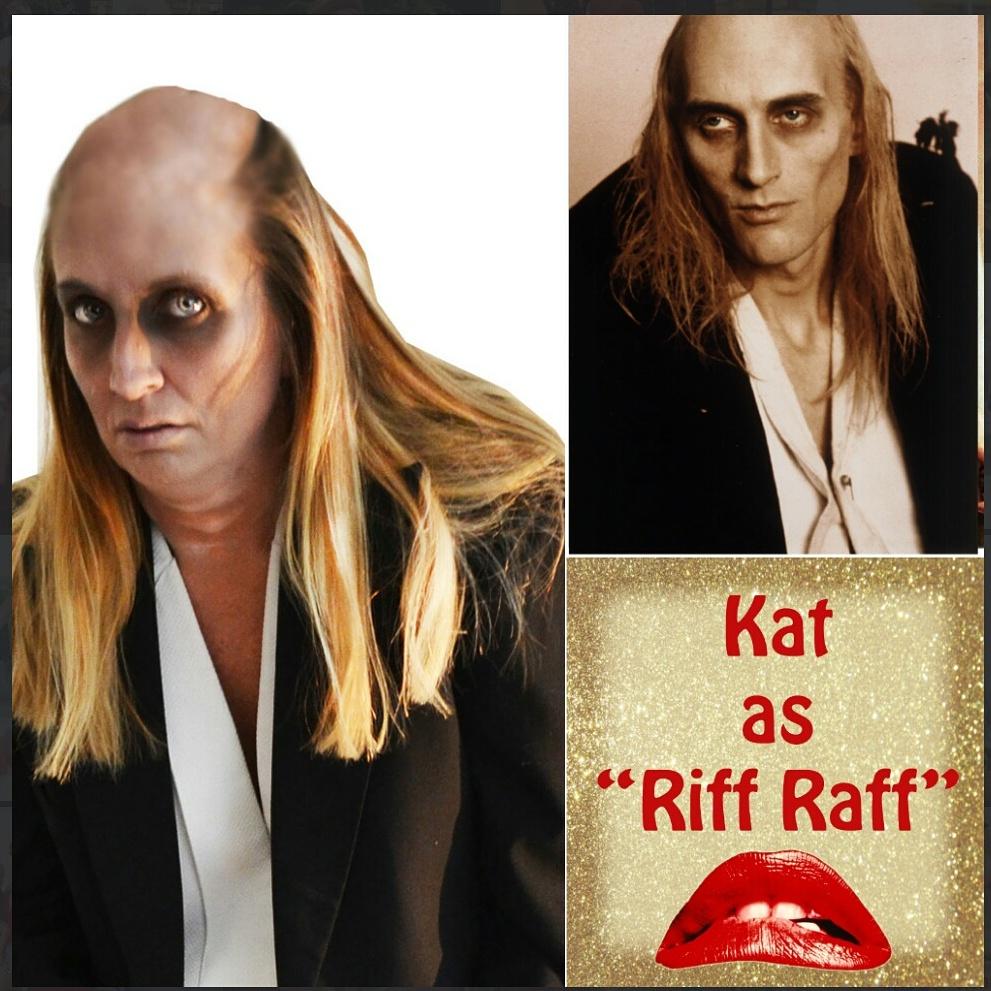 rocky horror picture show riff raff costume