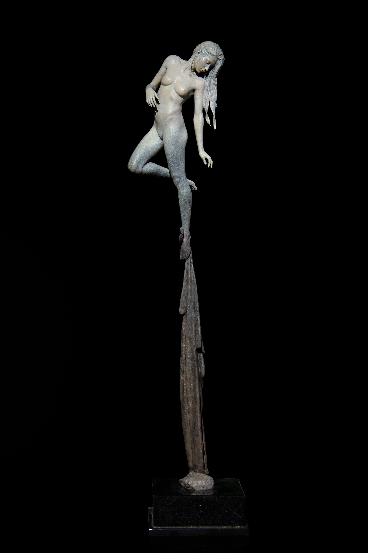 artist michael james talbot opal sculpture