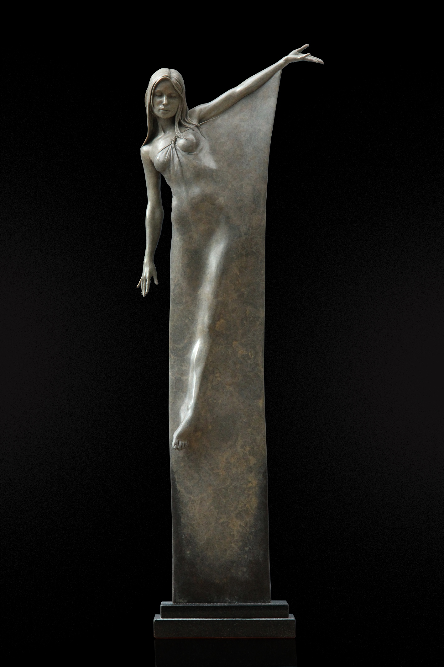 Artist Michael James Talbot Seraphina Sculpture