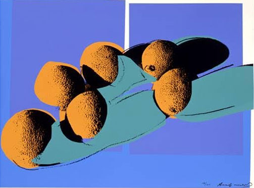 Cantaloupes, from Space Fruit: Still Lifes