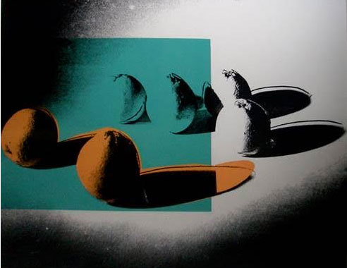 Oranges, from Space Fruit: Still Lifes