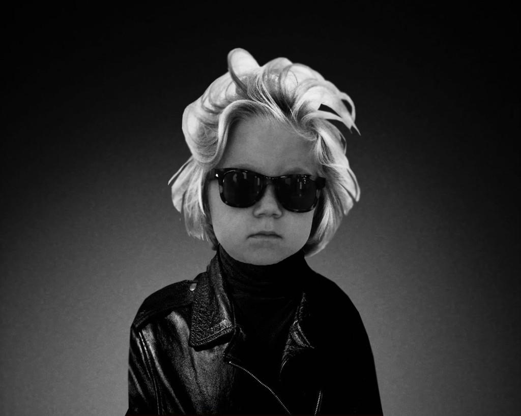 Andy Warhol Costume Idea- Andy Warhol Self Portrait
