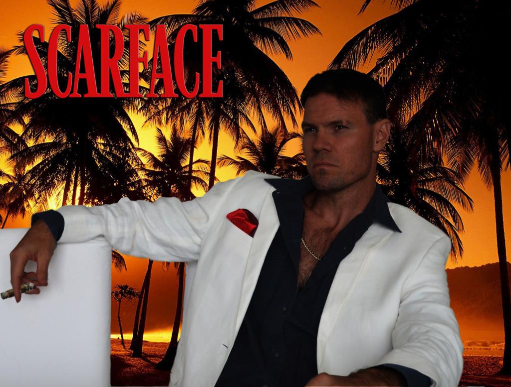 Scarface Costume Ideas- Tony Montana (Al Pacino)