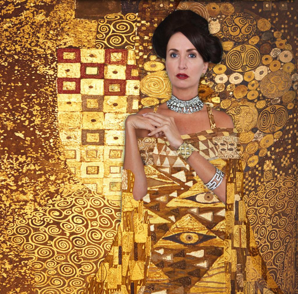 Woman in Gold Costume Idea- Gustav Klimt's Portrait of Adele Bloch Bauer