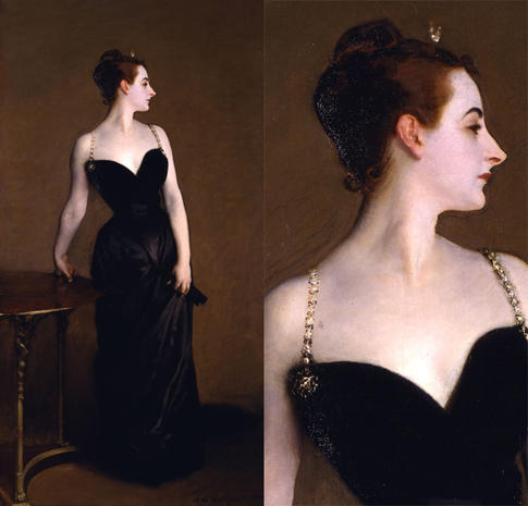 Madame X painting by John Singer Sargent