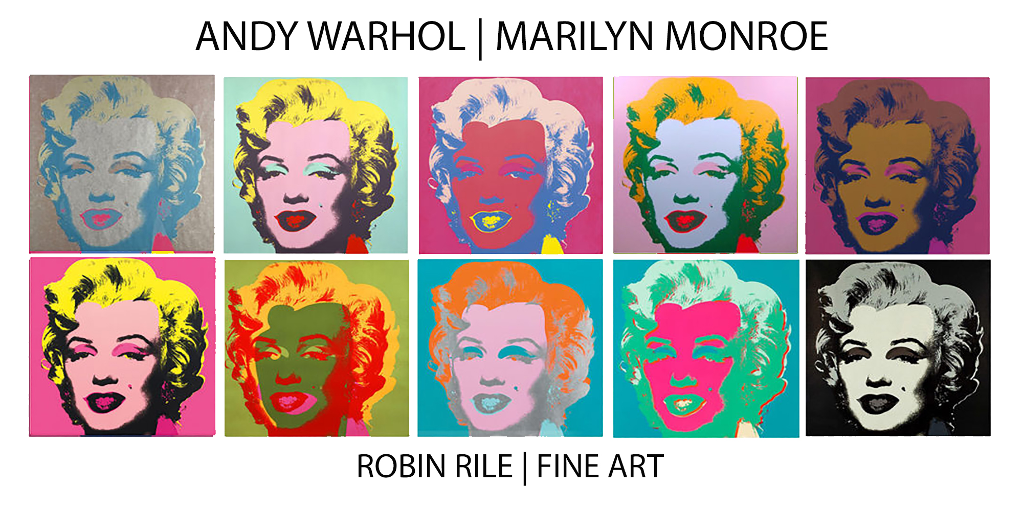 Andy Warhol Marilyn Monroe Portfolio